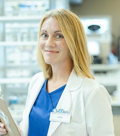 Photograph of Pharmacist Lisa Luebker