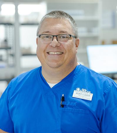 Photograph of Pharmacist Kurt Luker