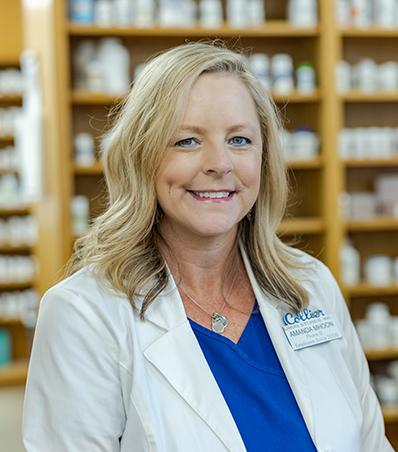 Photograph of Pharmacist Amanda Mhoon