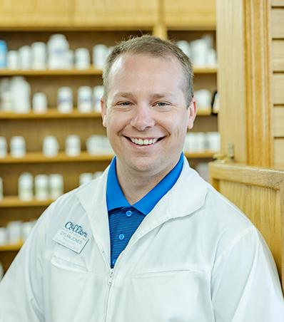 Photograph of Pharmacist Dylan Jones
