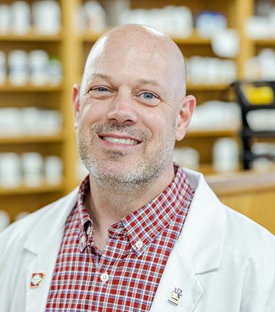 Photograph of Pharmacist Jeremy Veteto