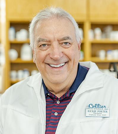 Photograph of Pharmacist Rickie Porter