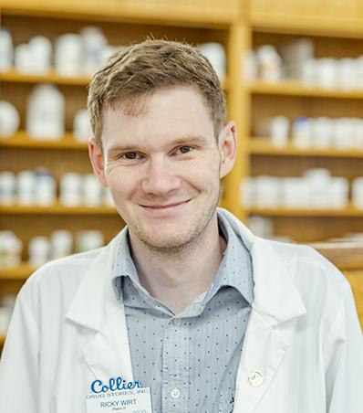 Photograph of Pharmacist Ricky Wirt
