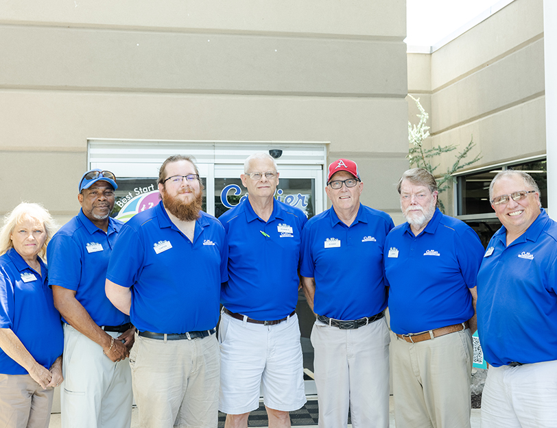 A photograph of Collier Drug Stores' Drivers