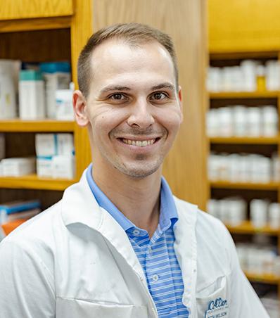 Photograph of Pharmacist Seth Wilson