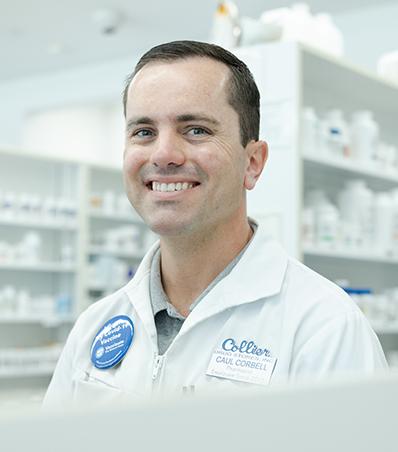Photograph of Pharmacisst Caul Corbell