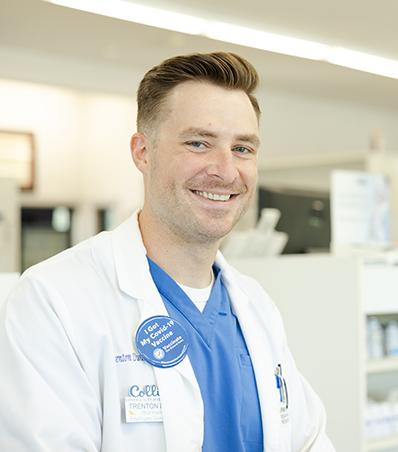 Photograph of Pharmacist Trenton Dunn