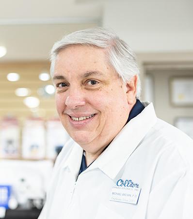Photograph of Pharmacist Michael Brown