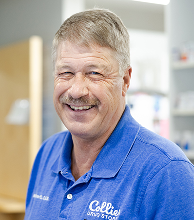 Photograph of Pharmacist Mike Scribner